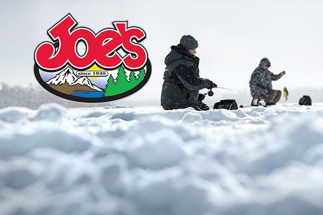 Ice Fishing Gear & Accessories | Joe's Sporting Goods St