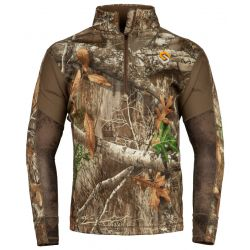Scentlok Men's BaseSlayers AMP Midweight Top - Realtree Edge