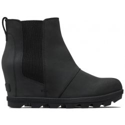 Sorel Women's Joan Of Arctic Wedge II Chelsea Boot - Black