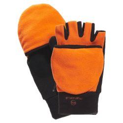 Manzella Hunter Convertible Hunting Gloves - Blaze Orange
