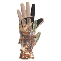Hunter Fleece Hunting Gloves - Realtree Xtra