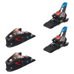 X-Cell 12.0 Ski Bindings 85 mm - Black/Flo-Red