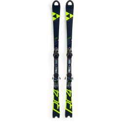 Fischer Skis Women's RC4 Worldcup SL Skis w/Curv Booster Plates