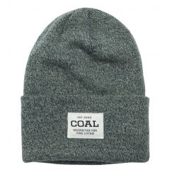 The Uniform Knit Cuff Beanie- Hunter Green Marl