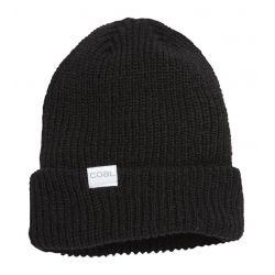 The Stanley Soft Knit Cuff Beanie-Black