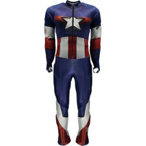 Boys' Marvel Performance GS Race Suit - Captain America