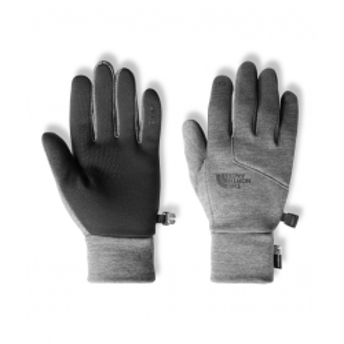 North Face Etip Glove - Med Grey Heather