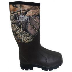 Neoprene Rubber Boots - Burly Camo
