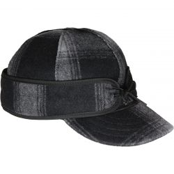 Stormy Kromer The Original Stormy Kromer Cap - Gray/Black Plaid