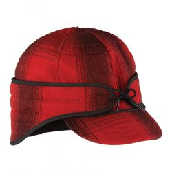 Men's The Rancher Cap - Red / Black Plaid