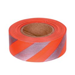 Allen Reflective Flagging Tape - Orange