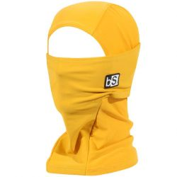Black Strap The Hood Facemask - Mustard