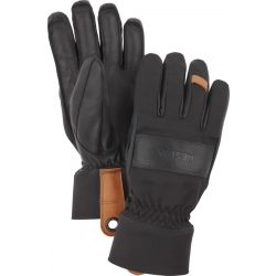 Highland Glove 5 Finger - Black