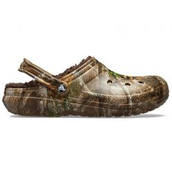 Crocs Classic Lined Clog - Realtree Edge/Brown