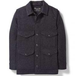 Filson Men's Mackinaw Wool Cruiser Jacket - Charcoal