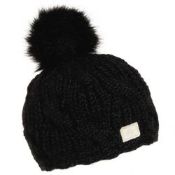 Turtle Fur The Amelia Merino Wool Lined Hat-Black