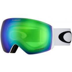 Oakley Flight Deck Goggle - Matte White/Prizm Snow Jade Iridium