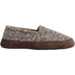 Acorn Men's Moc Slipper - Brown Tweed