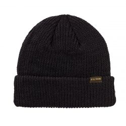 Filson Watch Cap Black - Black