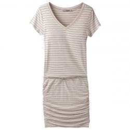 Foundation Dress - Pebble Gray/Heather Stripe