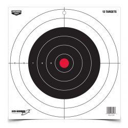 Birchwood Casey Eze-Scorer 12 inch Bull's Eye Target - 13 pk