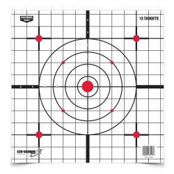 Birchwood Casey Eze-Scorer 12 inch Sight-In Paper - 13 pk