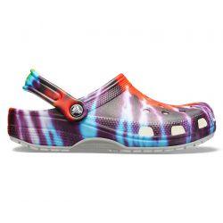 Crocs Classic Tie-Dye Graphic Clogs - Multi
