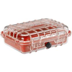 WaterSeals Waterproof Hardcase Medium - Red