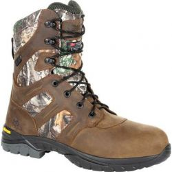 "Deerstalker Waterproof 8"" 800 G Insulated Boot - Realtree Edge"
