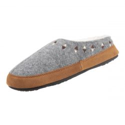 Acorn Women's Geo Embroidered Hoodback Slipper