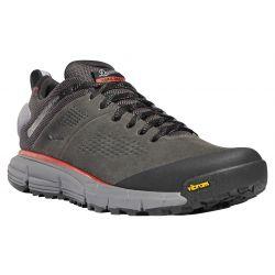 Men's Trail 2650 GTX Waterproof Hiking Shoes - Dark Grey / Brick Red