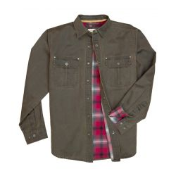 Men's Dalton Outershirt-Tobacco