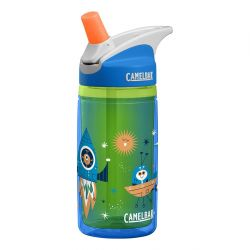 Camelbak Eddy Kids .4L Insulated Bottle- Blue Rockets