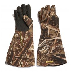 Cyborg Neoprene Gauntlet Gloves - Realtree Max-5