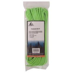 Paracord 50 ft - Neon Green