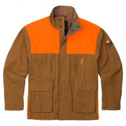 Browning Men's  Pheasants Forever Embroidered Upland Jacket - Tan
