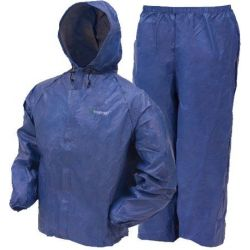 Frogg Toggs Youth Ultra Lite 2 Rain Suit - Blue