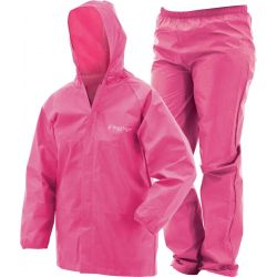 Frogg Toggs Youth Ultra Lite 2 Rain Suit - Pink
