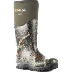 Teeb Bee Dee Boot - Camo / Dark Green