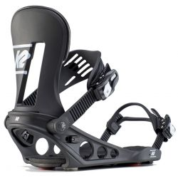 K2 Line Up Snowboard Bindings Black - 2020