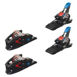 X-Cell 16.0 Ski Bindings 85 mm - Black/Flo-Red