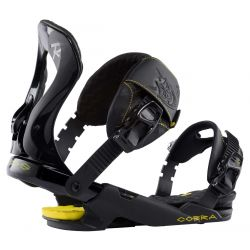 Rossignol Cobra Snowboard Bindings S/M 2020 - Black