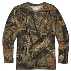 Browning Men's Wasatch CB Long Sleeve T-Shirt - Mossy Oak Break-Up Country