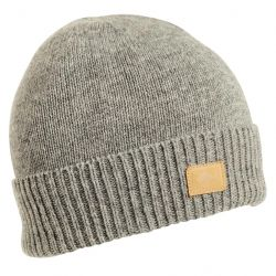 Turtle Fur Men's Lambswool Thatcher Beanie-Charcoal