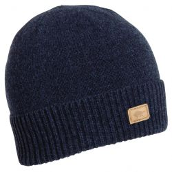 Turtle Fur Men's Lambswool Thatcher Beanie-Navy