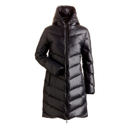 Women's Jordan Long Down Resort Coat - Black
