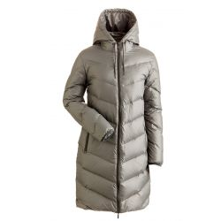 Women's Jordan Long Down Resort Coat - Pewter