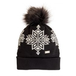 Women's Inga Knit Beanie - Black