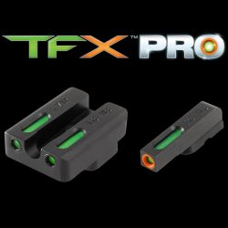 TFX CZ 75 Set Pro Optic Day / Night Sights - Orange