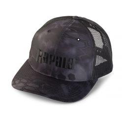 Rapala Rapala Trucker Cap Mesh Kryptek Typhoon - Black / Black Mesh